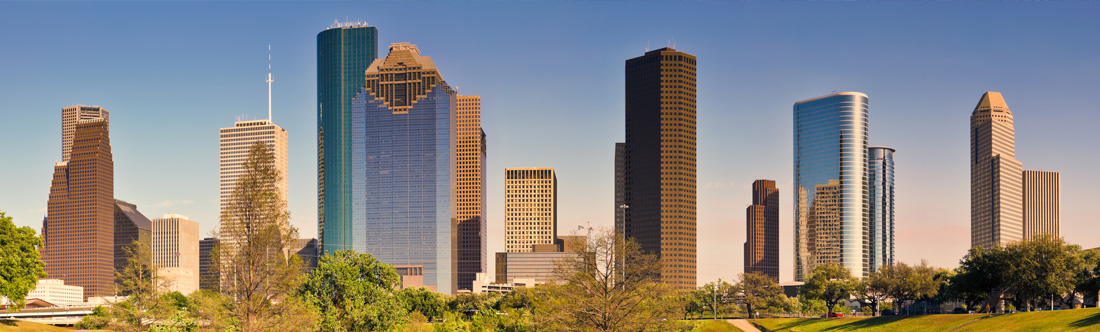 skyline image of Houston
